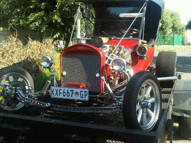 1929 Ford towed by All Ways Towing